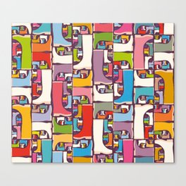 Wellies Canvas Print