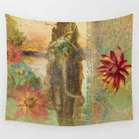 lily Wall Tapestries featuring Lily by Aimee Stewart