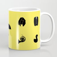 how i met your mother Mugs featuring How I Met Your Mother by George Hatzis