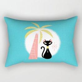 va-CAT-ions Rectangular Pillow