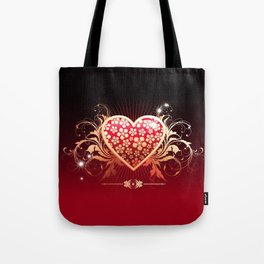 Surely his heart Tote Bag