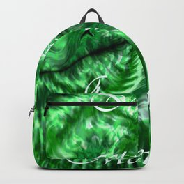 I´m Actually A Mermaid - Green Backpack