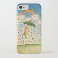 rain iPhone & iPod Cases featuring Rain by José Luis Guerrero