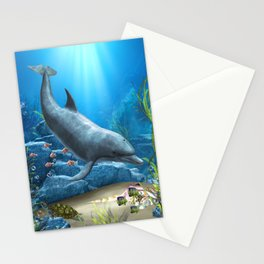 The World Of The Dolphin Stationery Cards
