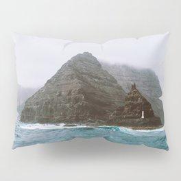 Island between Lanzarote and Isla Graciosa, Spain. Pillow Sham