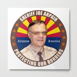 Sheriff Joe Arpaio Metal Print