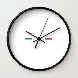 Funny Im Not Yelling I Am Italian Wall Clock