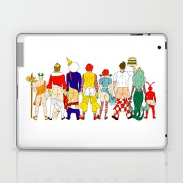 Fast Food Butts Mascots Laptop & iPad Skin