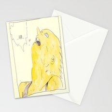 the awakening of bart as tetsuo Stationery Cards