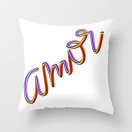 Amor 2018 Throw Pillow