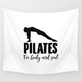Yoga Pilates Workout   Sports Namaste Gifts Wall Tapestry