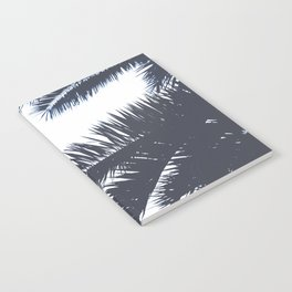 Palm Tree leaves abstract III Notebook