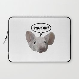 Squeak mouse Laptop Sleeve