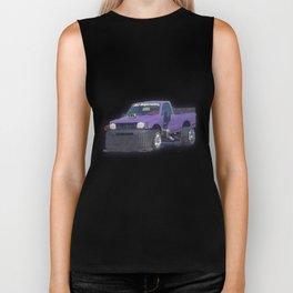 Purple car Biker Tank