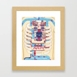 Anatomy Pt. II Framed Art Print