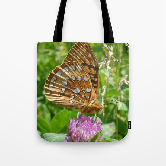 Great Spangled Fritillary Butterfly 2 Tote Bag
