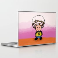 law Laptop & iPad Skins featuring Toads Law by Dama Chan