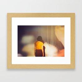 Puppet Framed Art Print