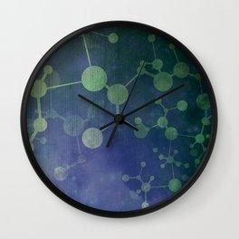 Double Helix Wall Clock