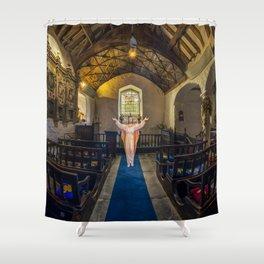 The Resurrection Of Jesus Shower Curtain