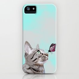 Gouda & the Butterfly iPhone Case