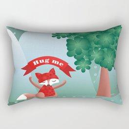 The fox say ''Hug Me'' Rectangular Pillow