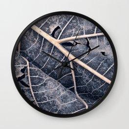 Organic Winter Decay Wall Clock