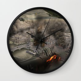 Their Finest Hour Wall Clock