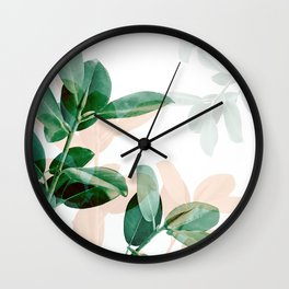 Natural obsession - Fall Wall Clock