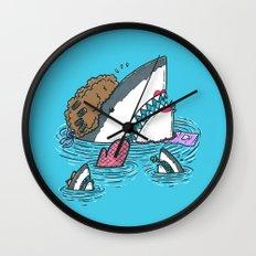 The Mom Shark Wall Clock