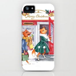 Foxy Christmas iPhone Case