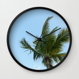 KEYWEST PALM TREE Wall Clock