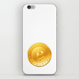 Bitcoin iPhone Skin
