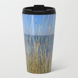 Sea horizon line Travel Mug