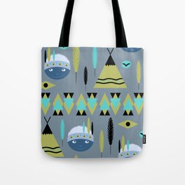 Cute children's American pattern 2 Tote Bag
