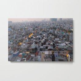 Saigon chaos Metal Print