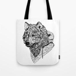 Mr Wolf Tote Bag