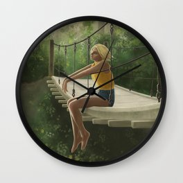On The Bridge Wall Clock