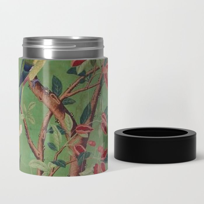Green Dream Chinoiserie Can Cooler