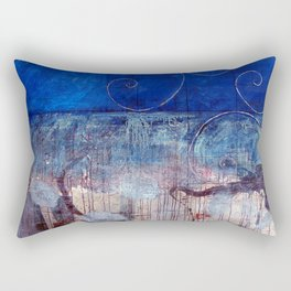 Chicxulub - Bluer version Rectangular Pillow