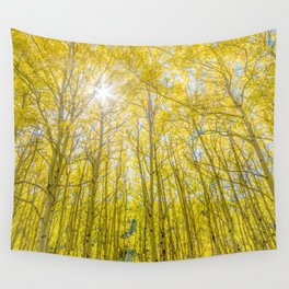 Nevermind The Trees Wall Tapestry