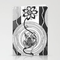 frog Stationery Cards featuring Frog by alicanto