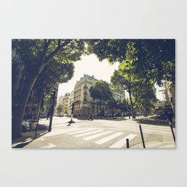 Le 8e Arrondissement Canvas Print