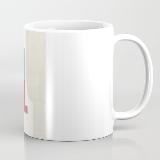 Devil in the detail. Mug