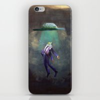 ufo iPhone & iPod Skins featuring UFO by Art-Thefts