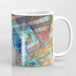 Abstract Constructed Experiment Coffee Mug