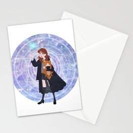 Magic Girl Stationery Cards