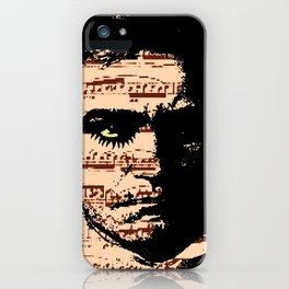 A Clockwork Beethoven  iPhone Case