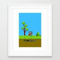 gameboy Framed Art Prints featuring Gameboy by Janismarika