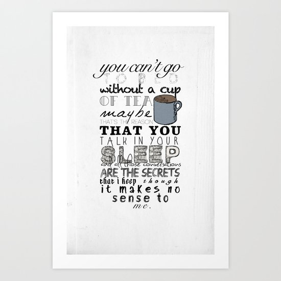 One Direction: Little Things Art Print